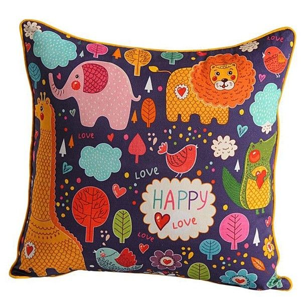Happy love kids cushion covers- KCC- 166