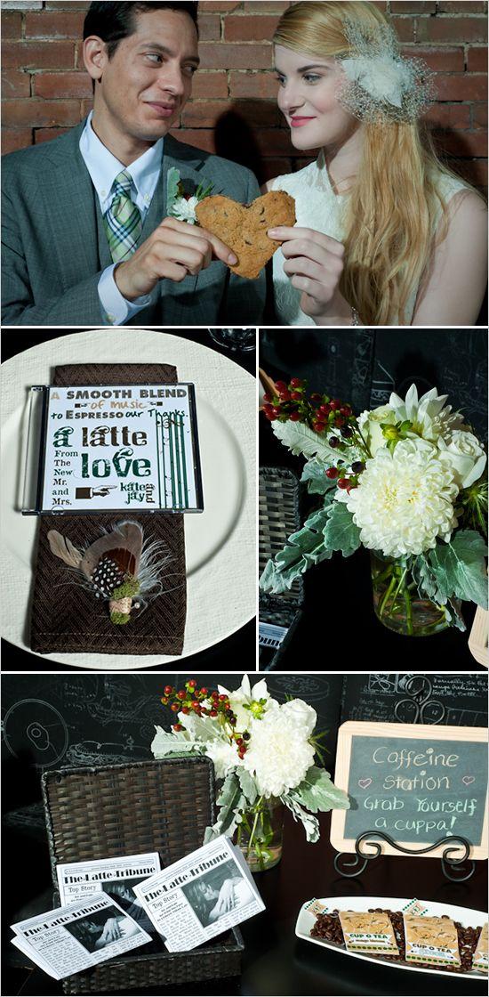 Starbucks Wedding All About Seattle The Wedding Version