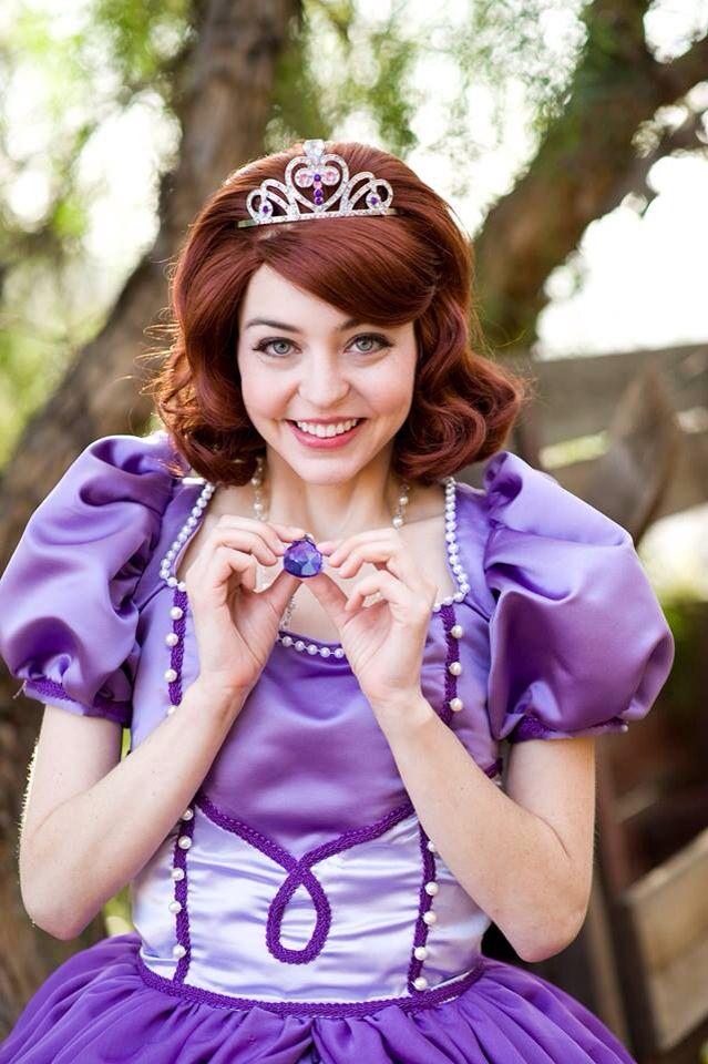 17 best images about singing birthday party characters on - Princesse sofia et ariel ...