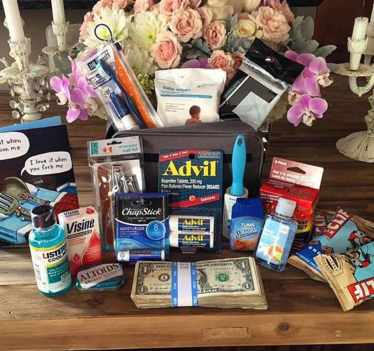 Wedding Party Gift Baskets: Bachelor Party Survival Kit In 2019