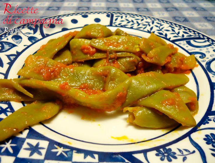 Taccole alla pizzaiola http://blog.giallozafferano.it/ricettecampagna/taccole-alla-pizzaiola/