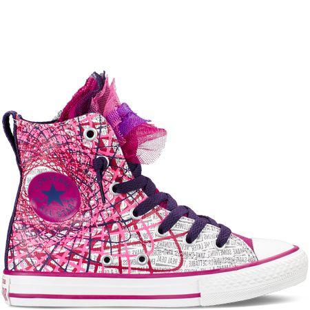 Converse - Chuck Taylor All Star Party Yth/Jr -Pink Sapphire - High Top