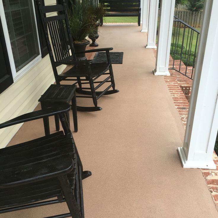 Concrete Patio After Painted With Behr Granite Grip PaintBest 25 Behr  Concrete Paint Ideas On Pinterest Diy Floor Paint