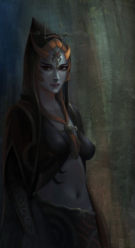 Jeu vidéo : Twilight Princessby yagaminoue /Midona / http://yagaminoue.deviantart.com/art/Twilight-Princess-414795681
