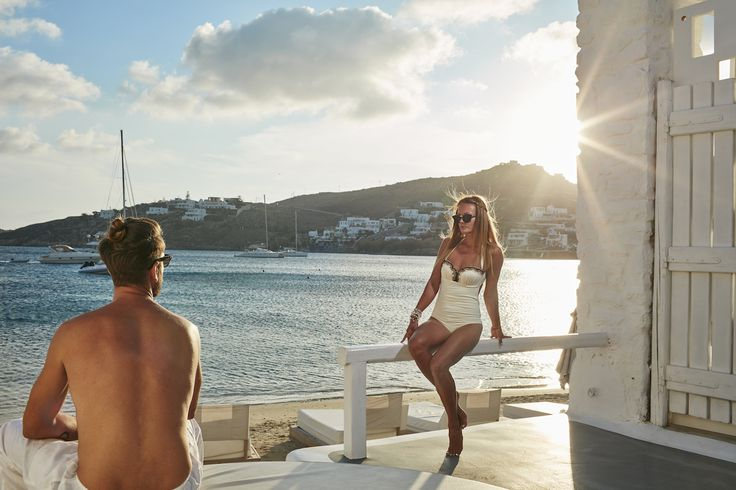 Looking into your eyes while the sun touches your golden hair and shoulders makes me realise I like sharing only the best moments in my life with you. Being here at Mykonos Blanc together is all I need. #MykonosBlanc #Mykonos #OrnosBeach #HotelInMykonos #MykonosHotel #Ornos #MykonosBlancHotel #Cyclades #Greece #Summer #LuxuryHotel #woman #girl #looking #standing #man