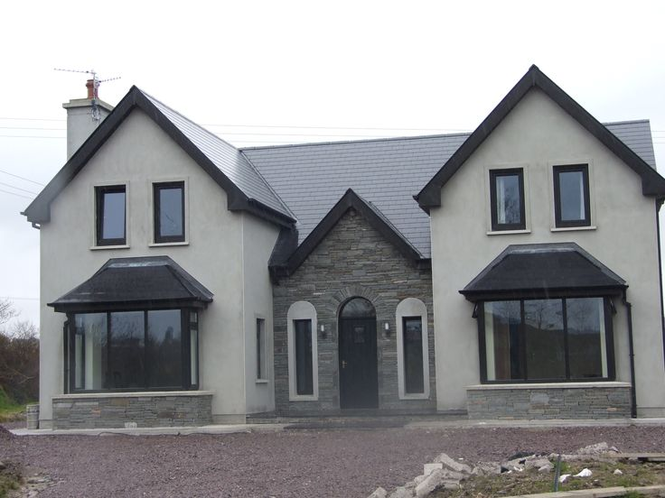 Almost finished new storey and a half residence in kerry for House designs ireland