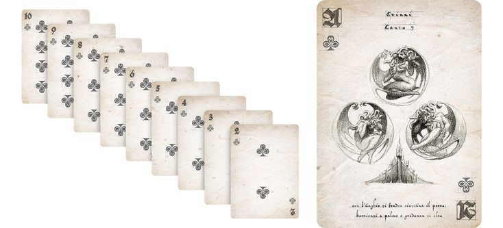Avernum - Passione playing cards on Behance
