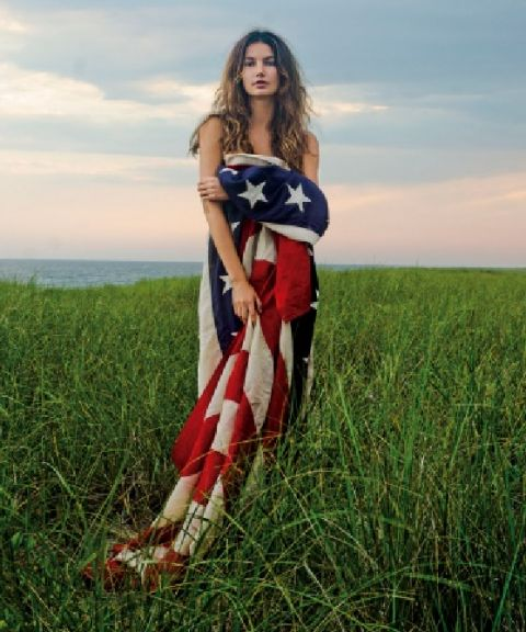 all- american chic: American Flags, Lily Aldridge, Claiborne Swanson, Lilies Aldridge, 4Th Of July, Beauty, Swanson Frank, American Beautiful, American Girls