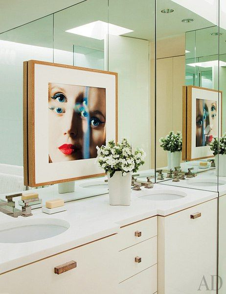 Bathroom Mirrors Los Angeles 132 best sarah's favourite bathrooms images on pinterest | room