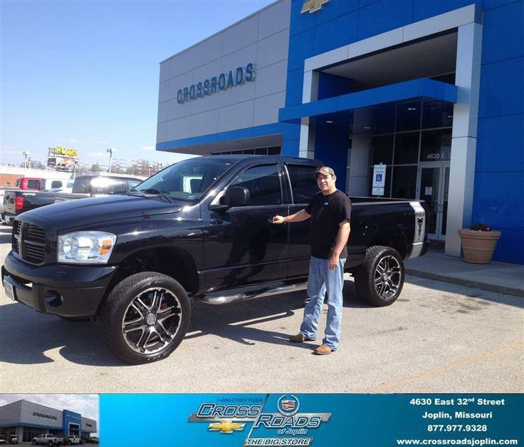 Congratulations to Stanley Raymond on your #Dodge #Ram Srt-10 purchase from Johnnie Wilson at Crossroads Chevrolet Cadillac! #NewCar