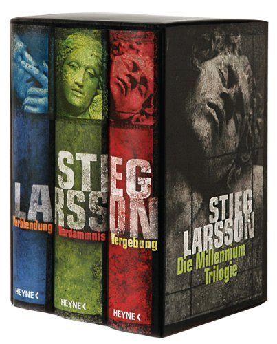 Stieg Larsson: Die Millennium Trilogie: Verblendung - Verdammnis - Vergebung Überraschenderweise fand ich die Filme besser als die Bücher! Auch das soll es geben ... Aber ich liebe auch Naomi Rapace!