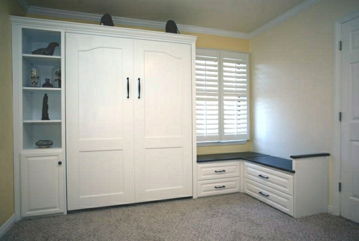 Solution for a bedroom without a closet home decor - Storage for small bedroom without closet ...