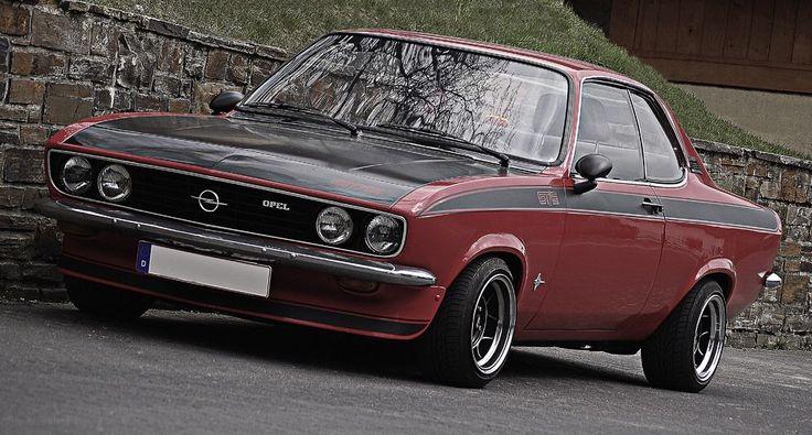 Opel Manta A-Series On ATS Wheels