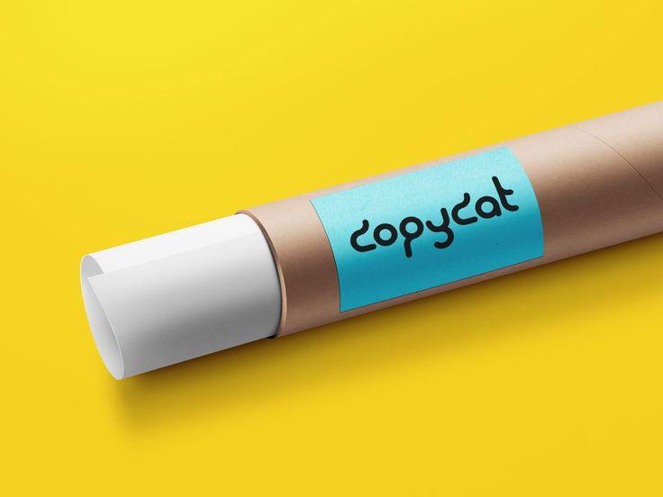Paper Tube Mockup FREE! (psd mock up)