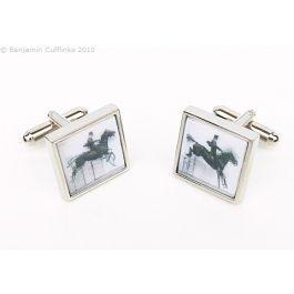Equestrian Horse (Moving Image) Cufflinks