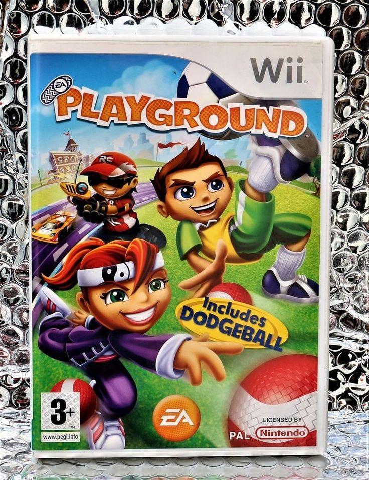 PLAYGROUND WII GAME EA GAMES PAL INCS DODGEBALL SLOT CAR