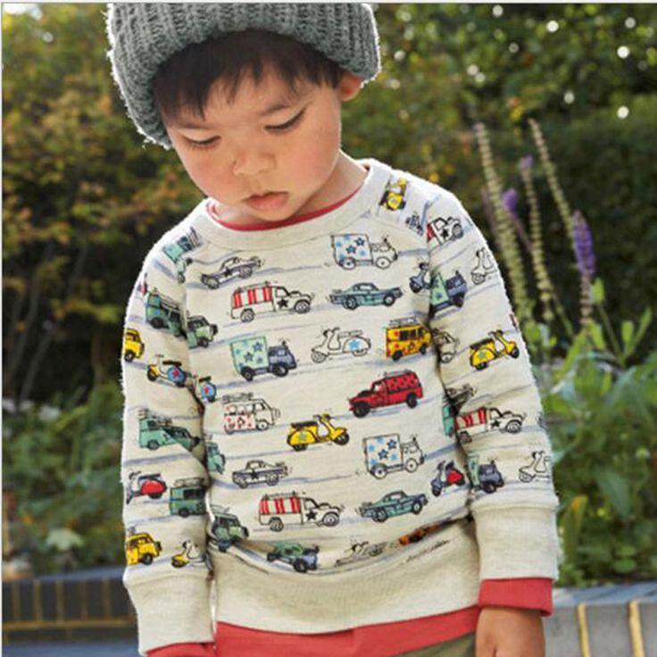 Boy Summer Shirts Car Toddler Kids T Shirt Children Tops Tee Clothing Baby Boys T-Shirts Kids Clothes Enfant Fille #Affiliate