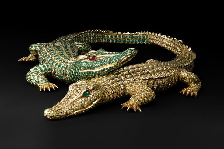 Collier Crocodiles by Cartier Paris for María Félix, 1975 (photo ©Vincent-Wulveryck)