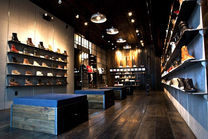 Kith Shoe Store By Cleanroom Brooklyn Store Design Eco