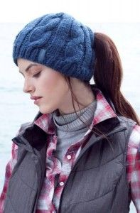 Accidental Genius 9 Ponytail Free Knit Hat Patterns