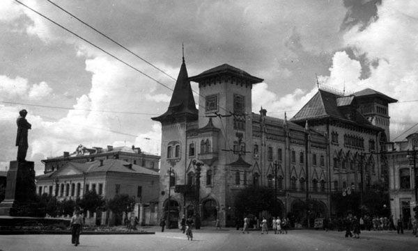 Саратов. Государственная Консерватория им Л.В. Собинова. Дата съемки неизвеста.