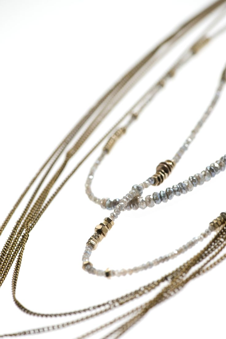Monica Trevisi Jewels - #collana #necklace detail - #jewels #jewlery #handmade #handcrafted #metal
