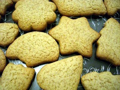 SUCRISSIME: Biscuits de Noël au miel et à la cannelle