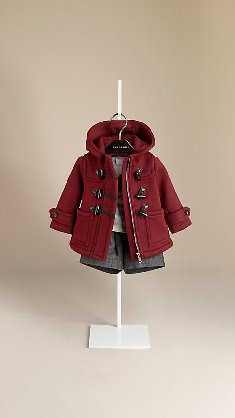 Bonded Cotton Duffle Coat | Burberry