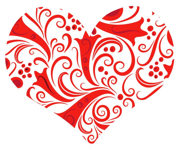 Transparent Heart Ornament PNG Clipart