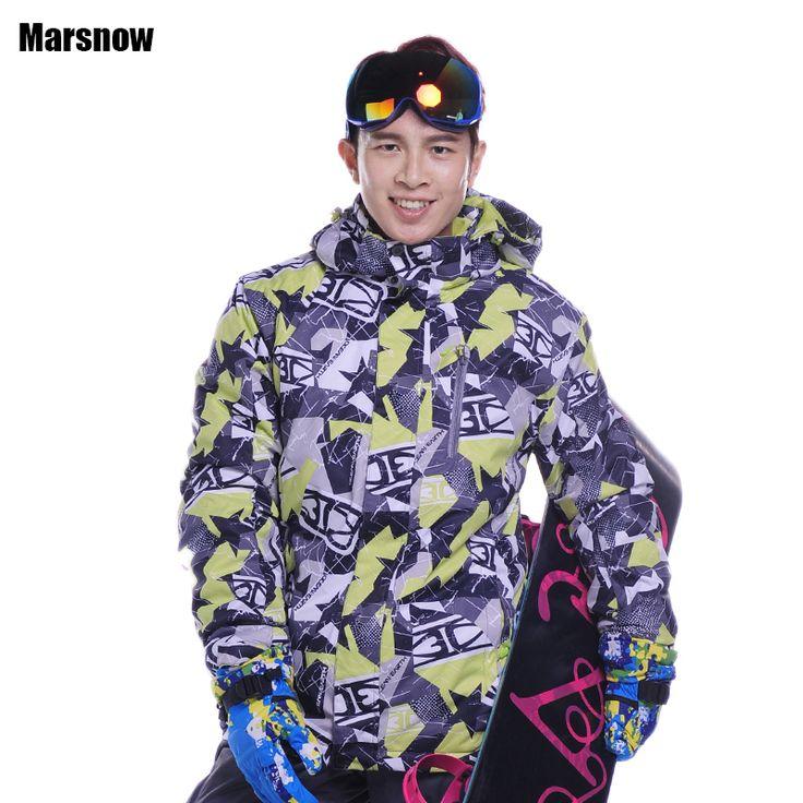 Dropshipping new Brand snow jacket waterproof windproof thermal coat 2016 hiking camping cycling jacket winter ski jacket men #Affiliate