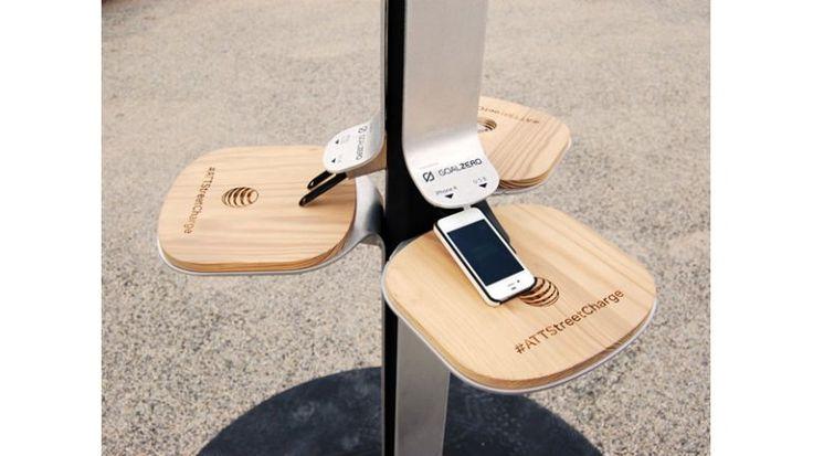 Nueva York, con estaciones de carga solares para celulares - Infobae