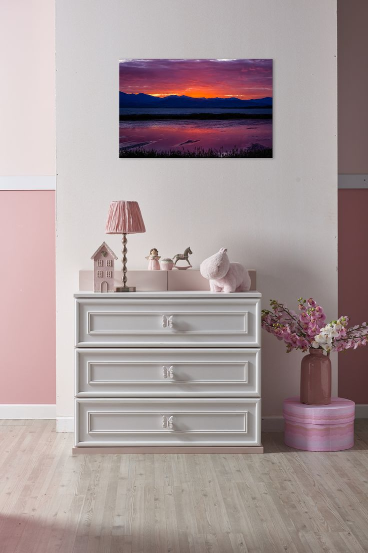 2015 08 decorating with plum and damson - Vibrant Purple Lake Sunset Art For Girls Purple Bedroom Decor Purple Art Prints Start Under 25 And Come In Many Sizes And Styles Including Canvas Art