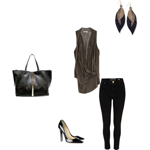 """Ladies Nite"" by megan-daniels on Polyvore"
