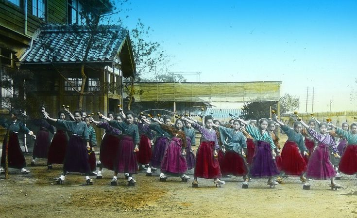 THE DUMB-BELL GIRLS OF OLD JAPAN -- or, Don't Stand Too Close to Your Neighbor While You're Swingin' Those Things ! | by Okinawa Soba (Rob)