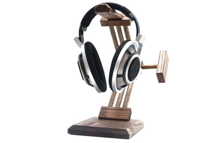 "Headphone Stand Headphone Station Headphone Holder Headphone Hanger Gifts For Men Christmas Gift Anniversary Present Tech Gifts ""Tartarus"""
