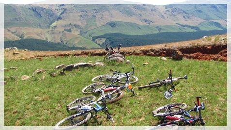 Mountain Biking - Ingeli Forest Lodge. Kokstad and Harding.