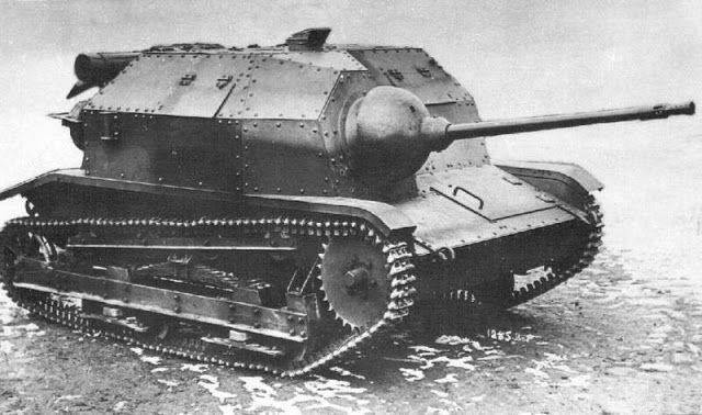 TK-3 tankette with a 20 mm wz.38 model A autocannon.