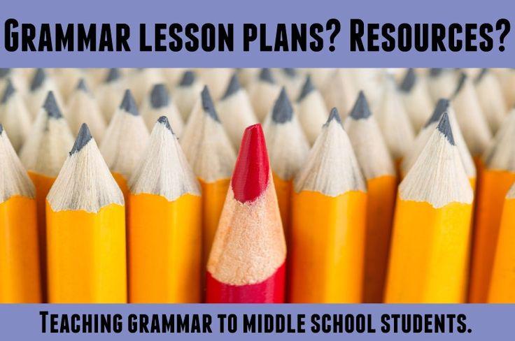 Middle School Resources: Grammar