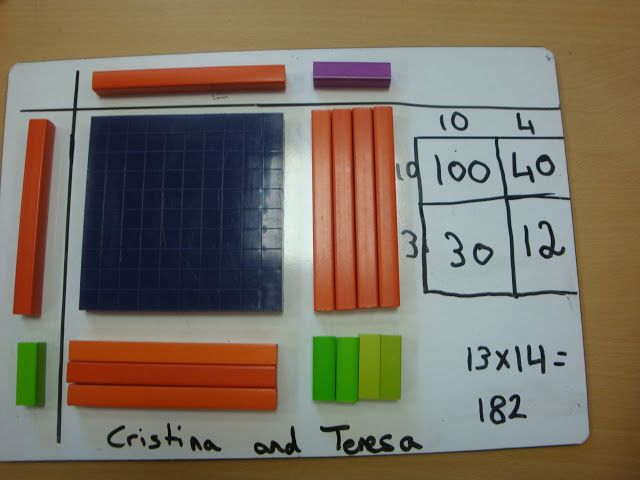 Cuisenaire multiplication and grid method - Simon Gregg - Picasa Web Albums