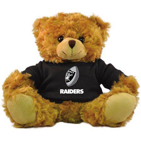 Bleacher Creatures NFL 9 inch Rally Men Hoodie Bear, Oakland Raiders, Brown