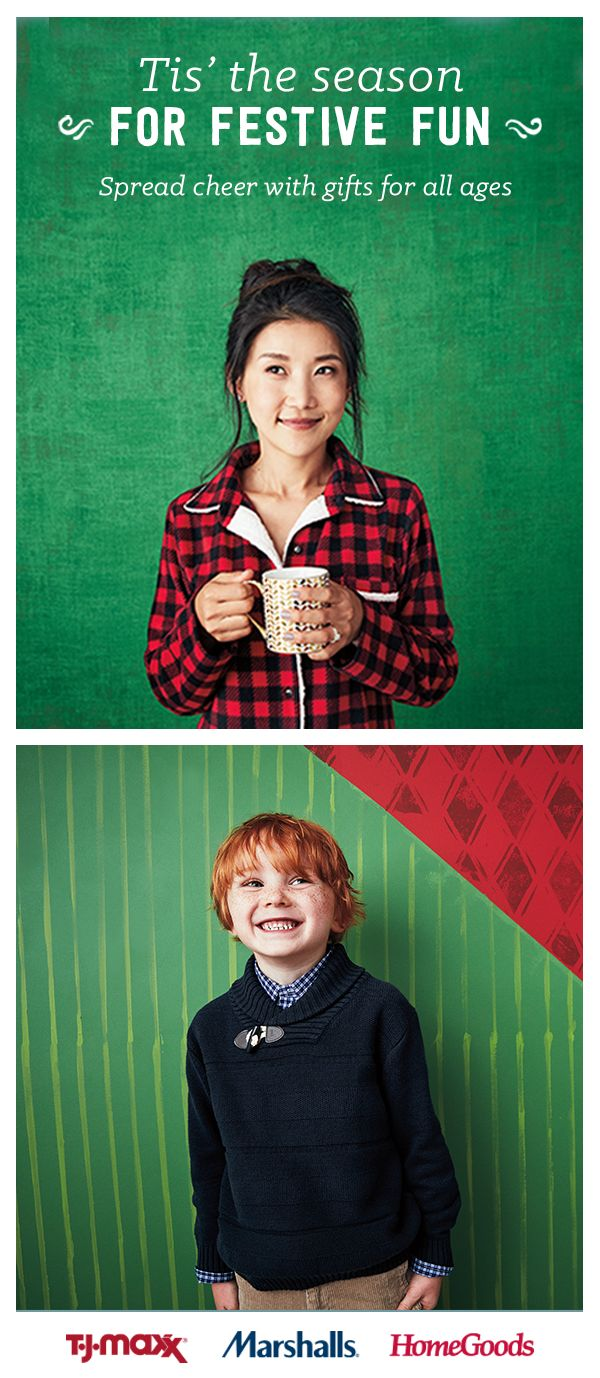This holiday season  find gifts for all ages at merry prices when you visit  a T J Maxx  Marshalls or HomeGoods store  Whether it s your little one or  your. 33 best Your guide to giving joy images on Pinterest   Christmas