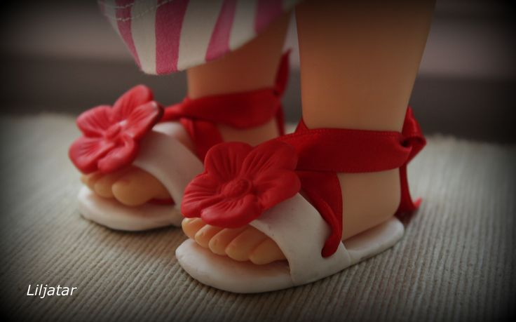 Animator doll shoes
