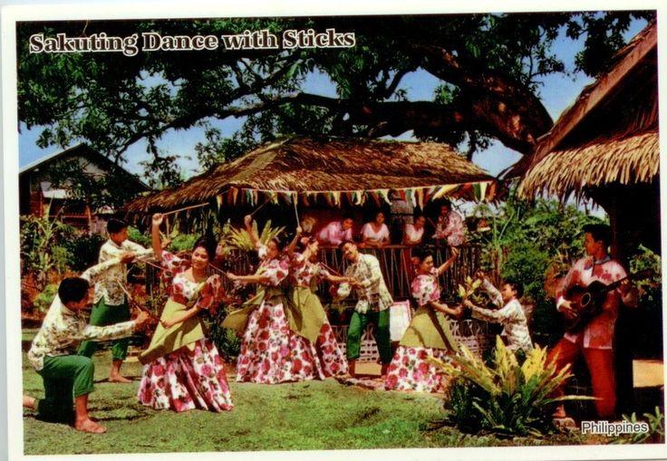 Sakuting dance with sticks