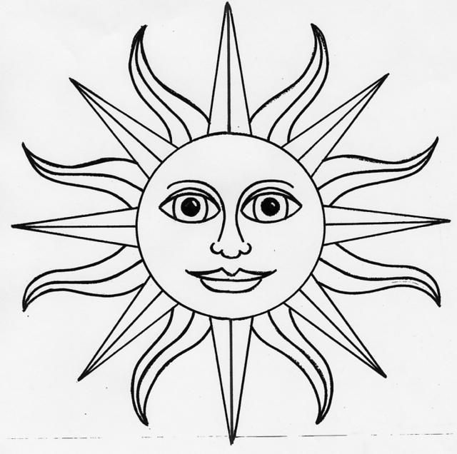 Line Drawing Sun : Best images about tin on pinterest our lady of