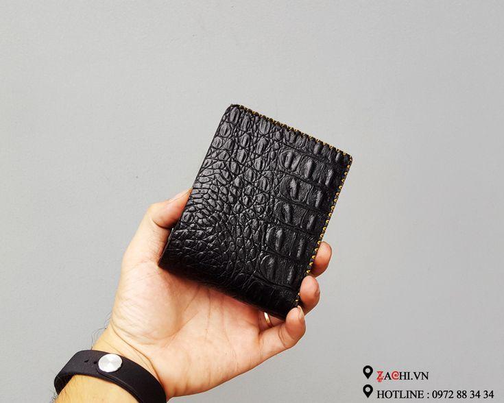 VN01BCSD - Ví da nam handmade – Zachi Handmade Leather