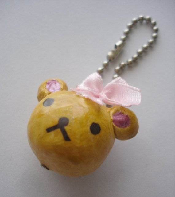 Cute Bear Keychain