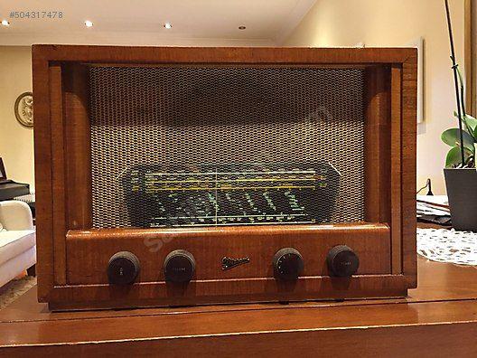 İkinci El ve Sıfır Alışveriş / Antika / Makine / Radyo