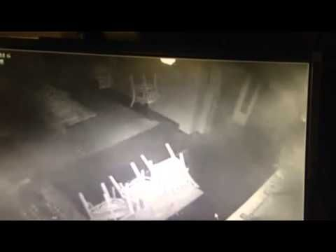 Real Ghost Videos: Ghost of a Little Girl Running Throught Restaurant Caught on CCTV - Paranormal 360