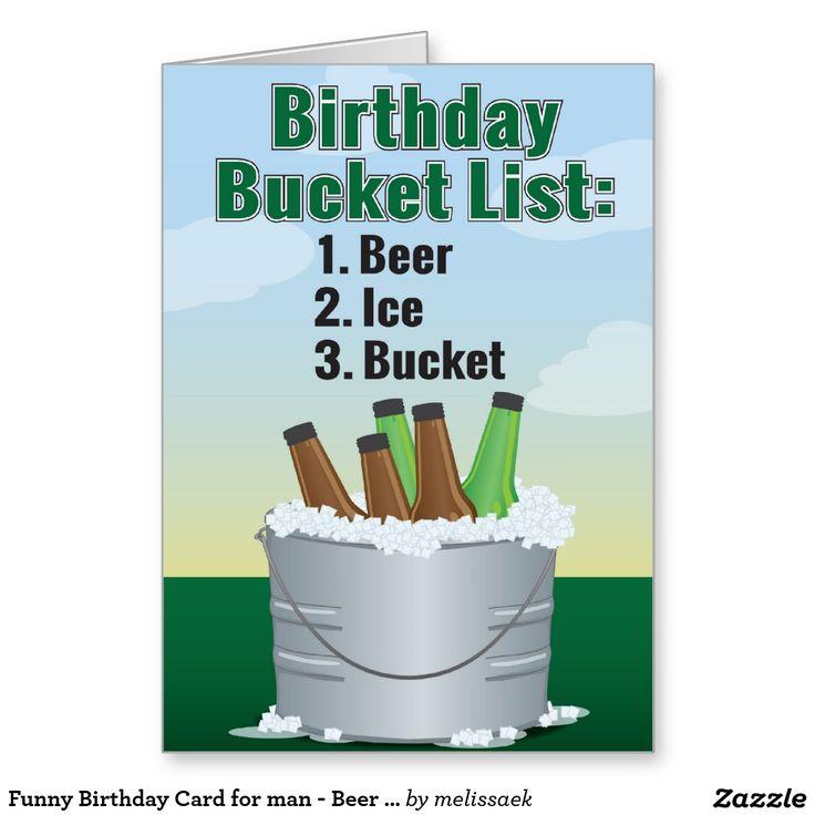 X Men Birthday Cards ~ Funny birthday card for man beer bucket list greeting cards pinterest