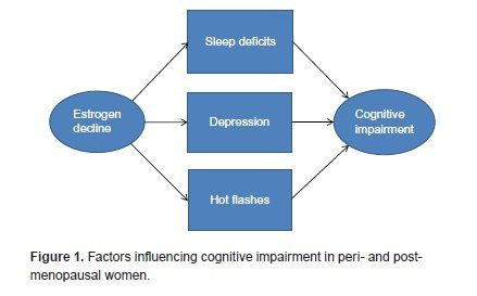 Figure 1 from 'Memory Decline in Peri- and Post-menopausal Women: The Potential of Mind–Body Medicine to Improve Cognitive Performance ', published in Integrative Medicine Insights. http://www.la-press.com/article.php?article_id=4319